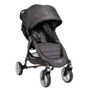 Baby Jogger City Mini 4 hjul, mörkgrå/denim