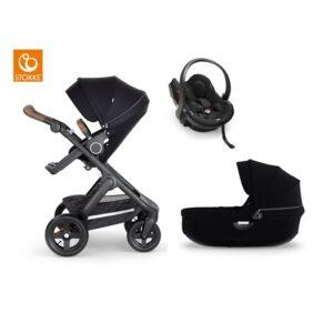 Stokke Trailz 2.0 duovagn + babyskydd, valfri färg