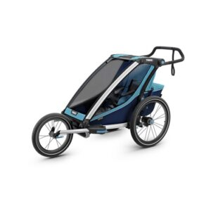 Thule Chariot Cross1 cykelvagn 2019, blue