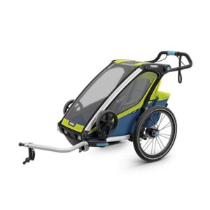 Thule Chariot Sport 1 cykelvagn 2019, chartreuse