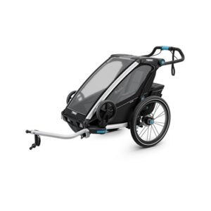 Thule Chariot Sport 1 cykelvagn 2019 + joggingkit, black