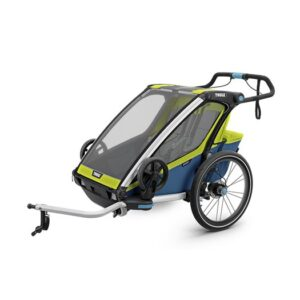 Thule Chariot Sport 2 cykelvagn 2019, chartreuse