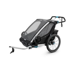 Thule Chariot Sport 2 cykelvagn 2019 + joggingkit, black