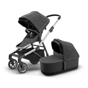 Thule Sleek duovagn, shadow grey