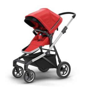Thule Sleek sittvagn, energy red