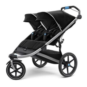 Thule Urban Glide 2 Double joggingvagn, jet black