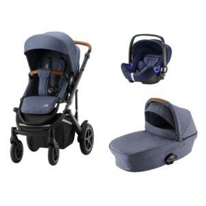 Britax Smile III duovagn + baby-safe2 i-size babyskydd