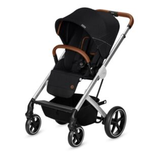Cybex Balios S sittvagn lavastone black/silvrigt chassi