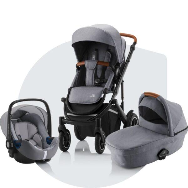 Britax Smile III Duovagn och Baby Safe I-Size² babyskydd