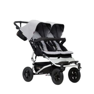 Mountain Buggy Duet v3 Syskonvagn (Silver)