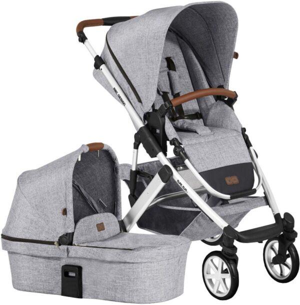 ABC Design Salsa 4 Duovagn, Grey