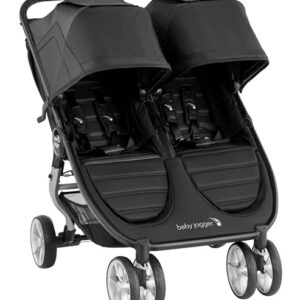 Baby Jogger City Mini Double Syskonvagn (Jet)