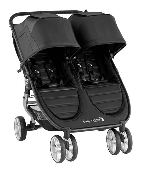 Baby Jogger City Mini Double Syskonvagn (Jet)