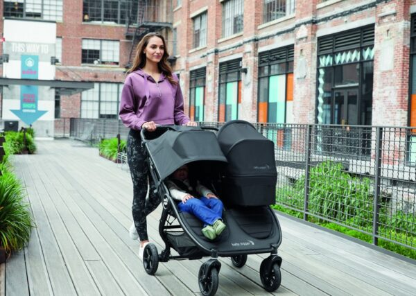 Baby Jogger City Mini GT 2 Double Syskonvagn (Carbon)