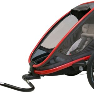 Hamax Outback One Reclining, Red/Charcoal