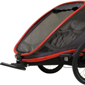 Hamax Outback Reclining, Red/Charcoal