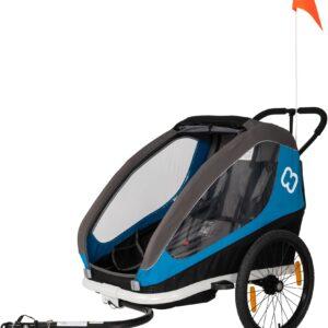 Hamax Traveller Cykelvagn, Blå