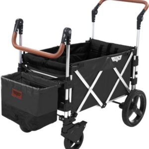 Keenz 7S Stroller Wagon Syskonvagn, Black