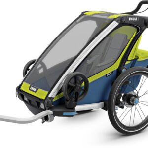 Thule Chariot Sport1 Cykelvagn, Chartreuse