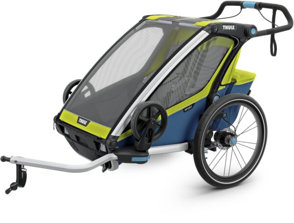 Thule Chariot Sport2 2019, Chartreuse