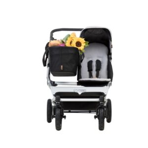 Mountain Buggy Duet v3 Singelvagn (Silver)