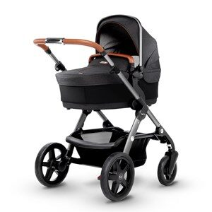 Silver Cross Wave Stroller and Carrycot Granite One Size