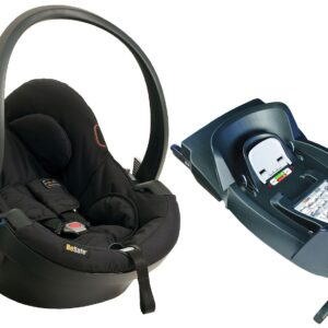 Besafe Babyskydd iZi Go X1, Black Cab + Bas ISOfix