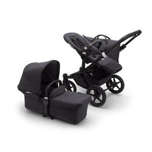 Bugaboo Donkey3 Mono Barnvagn Mineral Black Washed Black One Size