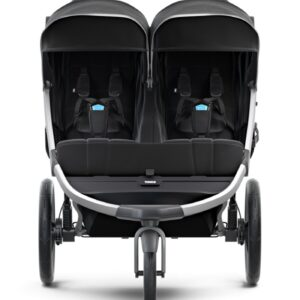 Thule Urban Glide 2 Double Joggingvagn (Jet Black)