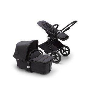 Bugaboo Fox2 Mineral Complete Stroller Black/Washed Black One Size