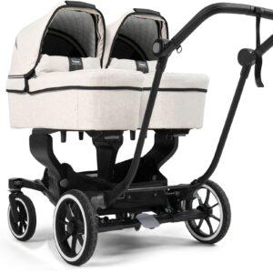 Emmaljunga NXT Twin Tvillingvagn 2021, Lounge Beige