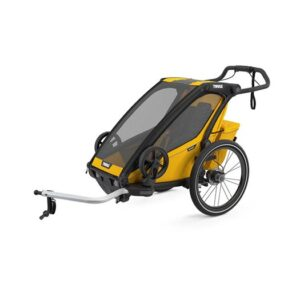 Thule Chariot Sport 1 cykelvagn 2021, spectra yellow