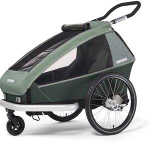 Croozer Kid Vaaya 1 Cykelvagn, Djungelgrön