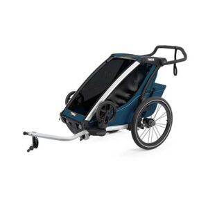 Thule Chariot Cross1 cykelvagn 2021, majolica blue