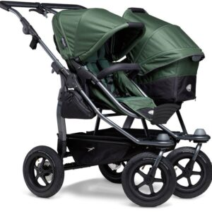 TFK Duo Combi Air Syskonvagn, Olive