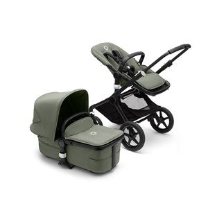 Bugaboo Fox 3 Complete Barnvagn Black/Forest Green one size
